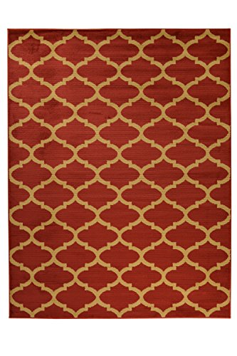 Royal Collection Dark Red 5'3