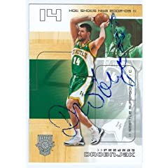 Predrag Drobnjak Autographed Hand Signed Basketball Card (Seattle Sonics) 2003 Fleer...