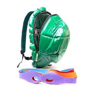 Teenage Mutant Ninja Turtles Shell/ Shield Backpack with Masks