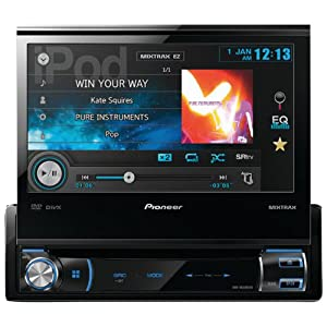 Pioneer Avh-x6500dvd 1-Din Multimedia DVD Car Receiver