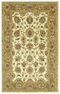 Linen Hand Tufted Deborah Rug: Heirloom Colelction By Kaleen Rugs: 8' X 10'