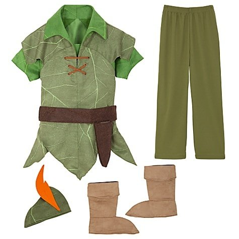 Disney Store Peter Pan Costume Size XXS [ 2 / 3 ] for Toddler boys 1 - 3 years old (Disney Store Peter Pan Costume compare prices)