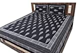 Jaipuri Hand Block Print Cotton Bedsheet Double