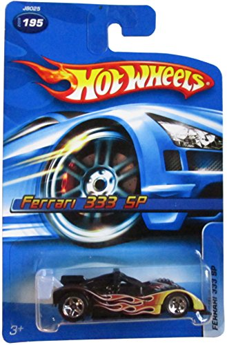 Mattel Hot Wheels 2006 1:64 Scale Ferrari 333 SP Die Cast Car #195