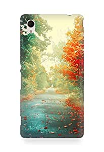 Amez designer printed 3d premium high quality back case cover for Sony Xperia M4 (Nature)