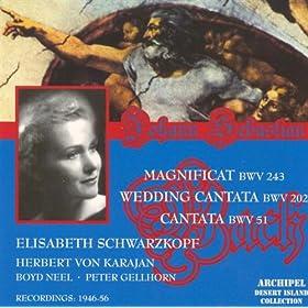 Cantata BWV 51 : Recitative : Wir Beten Zu Dem Tempel An