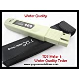 TDS Meter 3 Water Quality Tester