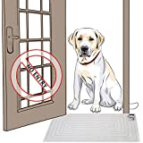 Jumbl SHOCK + SOUND 'Stay Away Mat' for Training Dogs, Cats, & Pets - Indoor Sofa Furniture Kitchen Porch Etc. Protection - Powered by 9V Battery or Wall Adapter (Optional) - Outputs Harmless Pulse & Audible Alert - Safe for Everyone