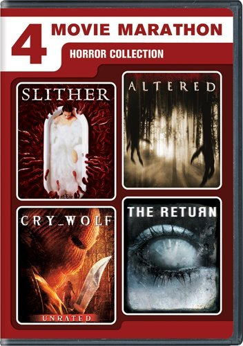 Cover art for  4 Movie Marathon: Horror Collection (Slither / Altered / Cry_Wolf / The Return)