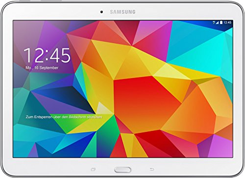 Samsung Galaxy Tab4 10.1 Tablet, Wi-Fi, 16 GB, Bianco