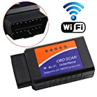 iSaddle WIFI Wireless OBD2 OBDII Scan Tool Auto Scanner Adapter Check Engine Light & CAN-BUS Auto Diagnostic Tool for Windows & Android Torque & iOS iPhone iPad iPod