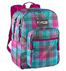 Trans by Jansport TM60 Supermax Backpack - BLINDED BLUE DANDY PLAID (9TV)