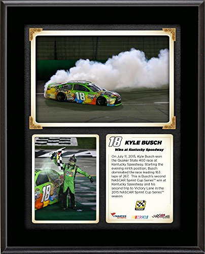 kyle-busch-2015-quaker-state-400-at-kentucky-speedway-race-winner-105-x-13-sublimated-plaque-collage