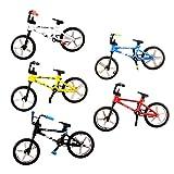 Peradix® 4.4 Mini Doigt Bicyclette Fixie Vélos Jouet VTT BMX Bike pour les Enfant garçon - Cadeau de Noël Couleur Aléatoire