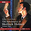 The Adventures of Sherlock Holmes: v. 2 (BBC Audio)