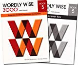 img - for Wordly Wise 3000 Grade 5 SET -- Student and Answer Key (Systematic Academic Vocabulary Development) book / textbook / text book