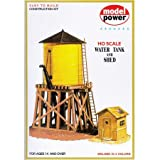 Model Power HO Scale Building Kit - Water Tank And Shed
