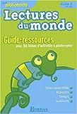 echange, troc Collectif - Lectures du monde : Mon bibliotexte,  cycle 2 (Manuel du professeur)