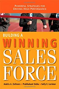 "Cover of ""Building a Winning Sales Force:..."