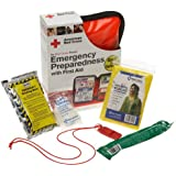 First Aid Only American Red Cross Emergency Preparedness W/first Aid Kit, Soft Case
