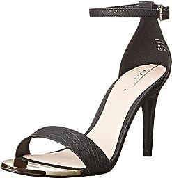 Aldo Women\'s Ridia Dress Sandal, Black, 7.5 B US