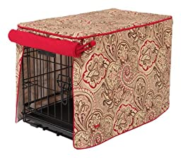 Crate Covers and More Crimson Espresso with Simply Red, Single Door