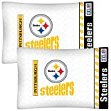 NFL Pittsburgh Steelers Football Set of Two Pillowcases at Amazon.com