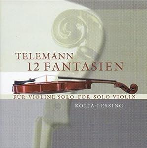 Telemann G.P.: 12 Fantasies F