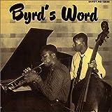 echange, troc Donald Byrd - Byrd's Word