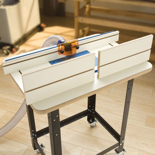 buy cheap rockler mdf 7 39 39 high replacement router table