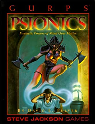 GURPS Psionics reprint (GURPS: Generic Universal Role Playing System)