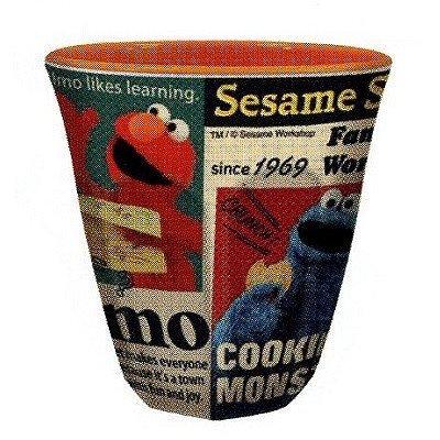 [Sesame Street] tazza in melamina (Giornale) (japan import)
