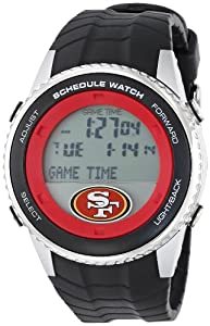 Buy Game Time Mens NFL Schedule Series Watch - San Francisco 49ers by Game Time