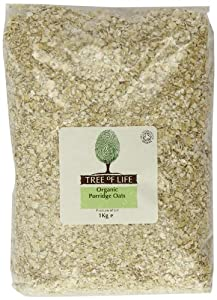 Tree of Life Organic Porridge Oats 1 Kg (Pack of 6)