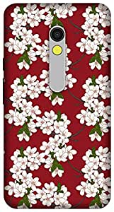 The Racoon Grip Cherry Flowers hard plastic printed back case / cover for Motorola Moto X Play