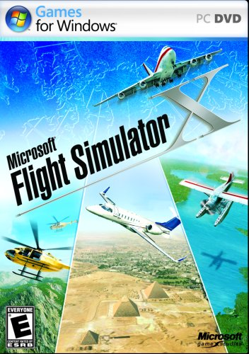 Microsoft Flight Simulator X Standard DVD – PC