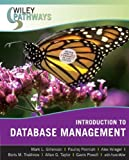 Wiley Pathways Introduction to Database Management (0470101865) by Gillenson, Mark L.
