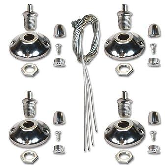 kit de suspension n ledvero ledvero pour panneaux led luminaires et eclairage z440. Black Bedroom Furniture Sets. Home Design Ideas