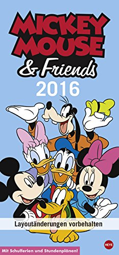 Disney Mickey Mouse & Friends Familienplaner 2016, Buch