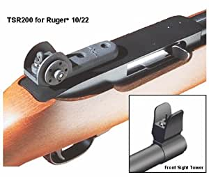 Tech Sight's TSR200 Adjustable Aperture Sight for the Ruger® 10/22® Rifle