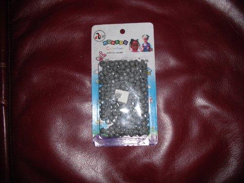 Ace Hair Beads, Gray
