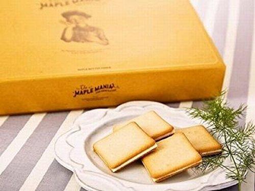 メープルマニア メイプルマニア The MAPLE MANIA メープルバタークッキー (9枚入り)