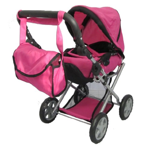 Mommy & Me - 5 in 1 Deluxe Doll Pram