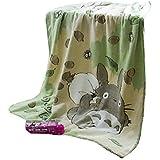 Studio Ghibli My Neighbor Totoro Studio Soft Blanket Single Japan Import