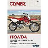 Clymer Repair Manual for Honda XR CRF 80 100 92 09