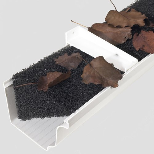 Rain Gutter Foam 32-linear Feet Gutter Guard, Prevents Debris Build-Up Season After Season. (Rain Gutter Foam compare prices)