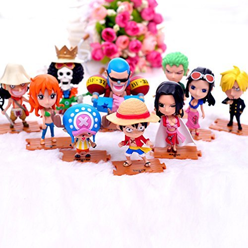 Anime-Cartoon-One-Piece-The-straw-hat-Pirates-Figure-Luffy-Roronoa-Zoro-Nami-Usopp-Sanji-Chopper-Nico-Robin-Franky-Brook-Toys-Car-Decors-Action-Figure-Dolls-10pcs-set