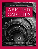 img - for Applied Calculus, Student Solutions Manual book / textbook / text book
