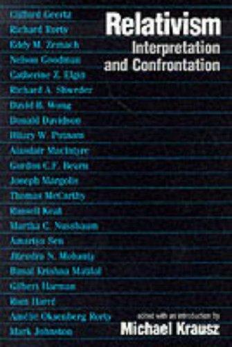 Relativism: Interpretation and Confrontation