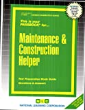 Maintenance and Construction Helper(Passbooks)